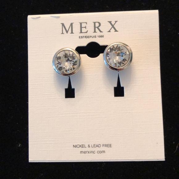 Merx Jewelry - Merx Clear Stud Earrings